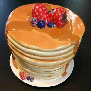Quaker Oats Pancake Cookie Jar Limited Edition