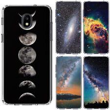for Samsung Galaxy J3 2018 Star/Orbit/Amp Prime3(Clear)TPU Phone Case Cover-D4