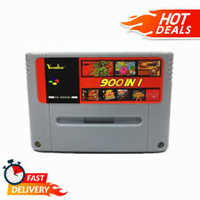 900 In 1 Retro Classic Game Card For 16bit Console Cartridge All USA/EUR/Japan