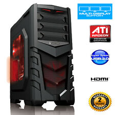 ULTRA FAST Quad Core 3.9Ghz 16GB 2TB Desktop Gaming PC Computer AMD WIFI dp606