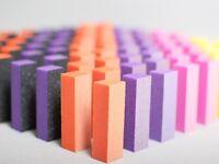 TNBL Nail File Sanding Buffer Block Acrylic UV Gel Manicure Pedicure Assorted