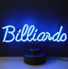 New pool hall bar arcade game room neon Billiards sign sculpture lamp light