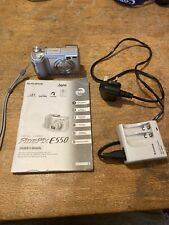 Fujifilm Finepix E550 6.3MP Digital Camera - With Instructions And Charger