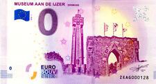 BELGIQUE Diksmuide, Museum Aan de Ijzer, 2018, Billet 0 € Souvenir