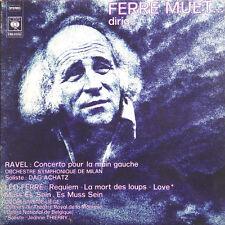 LEO FERRE Ferré Muet Dirige FR Press CBS 81055 1975 LP
