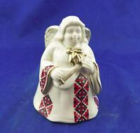 Mikasa Fine Porcelain Angel Bell & Pearl Ringer Holiday Elegance Free Shipping!