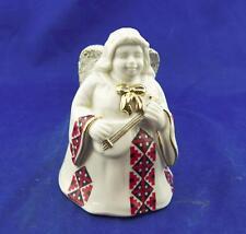 Mikasa Fine Porcelain Angel Bell & Pearl Ringer Holiday Elegance w/Decorations!