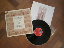 Henry Purcell - Birthday Odes For Queen Mary - UK EMI QUAD LP 1976 ASD 3166