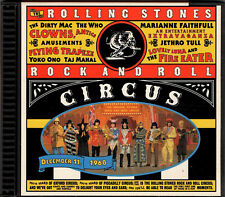 ROLLING STONES in Rock and Roll Circus CD USA 1268-2 Lennon Jethro Tull Who