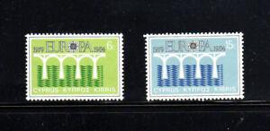 CYPRUS #625-626  1984  EUROPA   MINT  VF NH  O.G