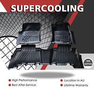 3D TPE Black Car Floor Rubber Mats For Toyota Land Cruiser Prado 150 2010-2020