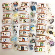 Choco Party Disney 4 Mini Figure 25p Complete Set include Rare Secret choco egg