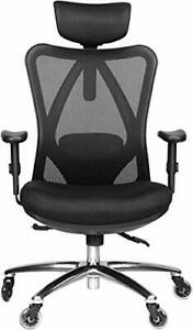 Duramont Ergonomic Office Chair - Adjustable Desk Chair with Lumbar Support and