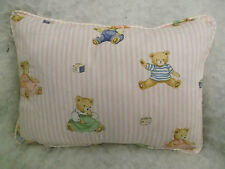 "LITTLE TEDDIES BY JANE CHURCHILL OBLONG CUSHION 18"" X 12 ""(46 CM X 30 CM)"