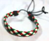 New Palestinian Flag Braided Bracelet Palestine Four Colors Flag Wristband # B