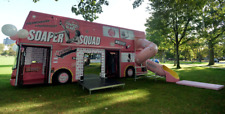 Alexander Dennis Double Decker promotional bus