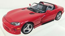 Dodge Viper Rt / 10 ~ 1/18 Scale Die-Cast Car ~ Displays Great~ Mib~