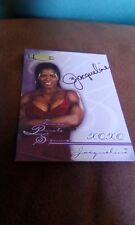 Fleer WWF WWE Championship Clash Diva Private Signing Autograph Jacqueline