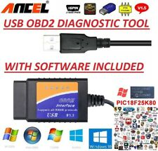 2019 ALFA ROMEO OBD2 USB Original Car Code Scanner DIAGNOSTIC TOOL Interface
