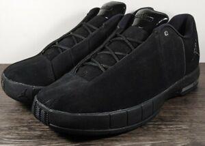 Air Jordan TE 2 Low Men's Size 8 Low Top Black Basketball Shoes AO1696-003