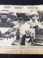 73-3 Ephemera 1969 Picture Moira Lister A Very Merry Widow Bbc Actress