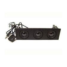 Logisys 5.25inch Bay 3W Surround Speaker Mesh Panel (FP308BK)