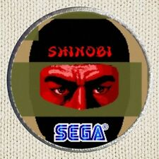 Shinobi Patch Picture Embroidered Border Arcade Videogame Sega Ninja Warrior