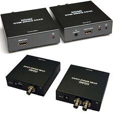 HDMI Aerial Cable Extender Balun -Run Over Single 100m Coaxial-IR Control 1080p