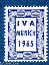 vignette expérimentale de démonstration d'expo de Munich en 1965 IM 1 bleu IVA