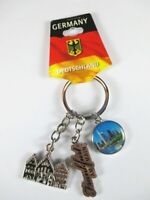Frankfurt Römer Skyline Metall Charms Schlüsselanhänger Keychain,hochwertig