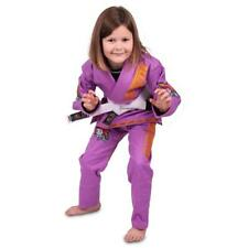 Tatami Meerkatsu Kids BJJ Gi Purple Butterfly Jiu Jitsu Suit Uniform Childrens M00