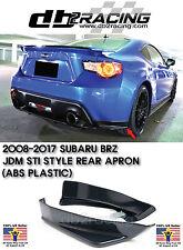 ST-Style Rear Lip Aprons (ABS) Fits 12-17 Subaru BRZ JDM