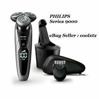 %100 ORIGINAL & Philips S9000 Wet & Dry Electric Shaver S9711/31 Smart Clean