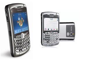 BlackBerry Curve 8310 Handy Dummy Attrappe - Requisit, Deko, Ausstellung, Maket