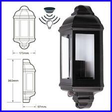 LED Half Lantern Exterior Outdoor IP44 Dawn Dusk Photocell Sensor Porch Light