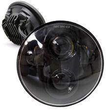 "1X H4 40W 5.75"" Hi/Lo Beam Round LED Motorcycle Headlight for Harley Davidson"