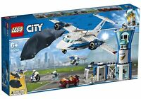 LEGO City Sky Police Air Base 60210 with Ejecting Parachute New Factory Sealed