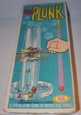 KER PLUNK vintage Game IDEAL 1960s - rj