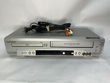 New listing Sylvania Ssd803 Dvd Vcr Combo w/ Av cables Vhs Player Recorder