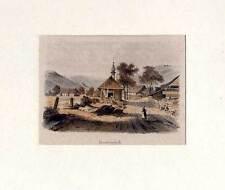 Immeneich-St. Blasien-Albtal - Lithographie von Pecht um 1835