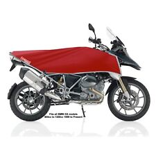 Adventure Dual-Sport motorcycle bike cover KIT- travel size (RED/SILVER)