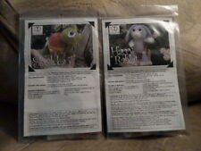 Harry Rabbit and Sheldon Knit Kits By Cid Hanscom Designs Read New