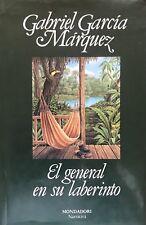 EL GENERAL EN SU LABERINTO. GABRIEL GARCIA MARQUEZ.
