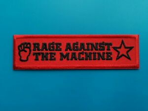 Rage Against The Machine Punk Rock Music Festival Sew or Iron On Badge