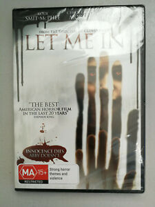 Let Me In DVD American Horror MA15+ Brand New in Plastic R4