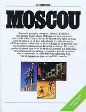 Coupure de presse Clipping 1982 Moscou avec le plan  (35 pages)