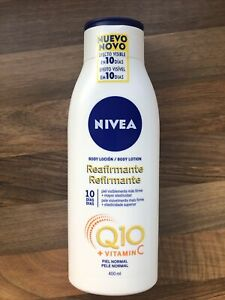 Nivea Q10 Firming Body Lotion With Vitamin C, Normal Skin 400ml Bottle Brand Nw