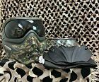 NEW V-Force Grill Paintball Mask - SE Woodland Camo w/ Ninja Black & Clear Lense