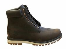 Timberland Radford 6 Inch Waterproof Brown Leather Lace Up Mens Boots A1UOA