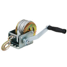 Hand Winch For Wire Rope 800 lbs Capacity